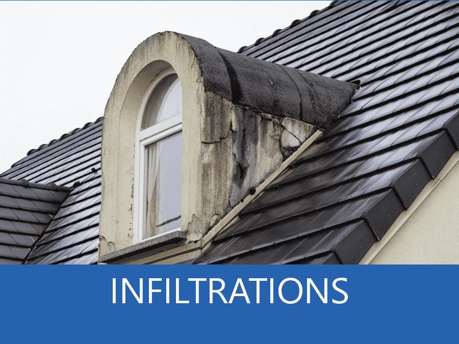 expertise infiltrations Gard, expert infiltration 30, cause infiltration Nimes, réparation infiltration Alès,