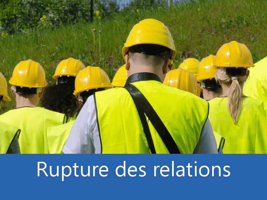 rupture des relation chantier 30, problème durant le chantier Gard, stress chantier Nimes, problème durant le chantier Alès,